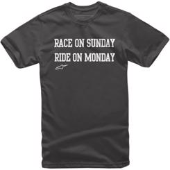 "Alpinestars ""Race & Ride"" T-Shirt Sort"
