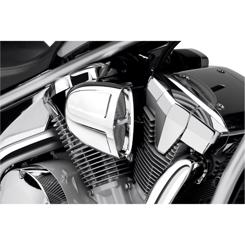 Yamaha XVS 1300 Midnight Star Årg. 2007-2018 Cobra PowrFlo Indsugnings Kit Krom