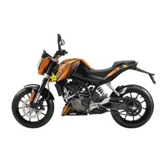 Decal Sæt Til KTM Duke 125 / 200 / 390 BlackBird - Rockstar Energy