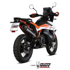 KTM 790 Adventure /R årg. 2019- MIVV Oval Carbon Slip-on Udstødning