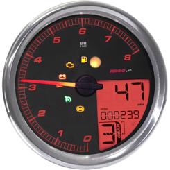 Koso HD-05 Type 1 Harley Davidson Multifunktion Speedometer