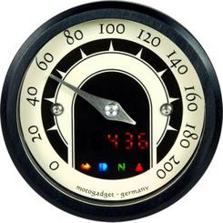 Motogadget Tiny Speedster Speedometer - Sort