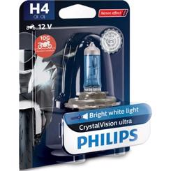 Philips H4 Crystal Vision Moto Ultra 60/55W