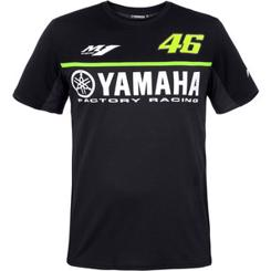 "VR46 Yamaha Racing ""Black Line"" T-Shirt"